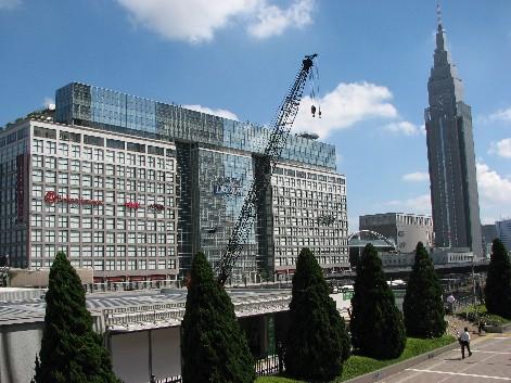 高島屋タイムズスクエア&ドコモタワー